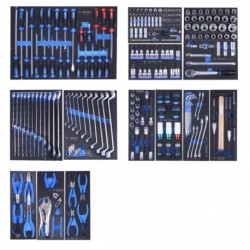 TBR4607-X-246 Instrumentu kaste-ratiņi 246 vien. komplekts