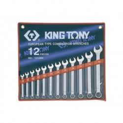 1212MR Kombinēto atslēgu komplekts Combination wrench set