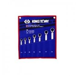 7 kombinēto atslēgu ar reversu komplekts