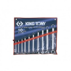 1710MR S-veida atslēgu komplekts Offset combination ring wrench set