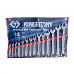 1214MR Kombinēto atslēgu komplekts Combination wrench set