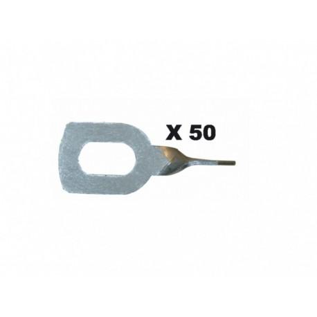050631 Cilpas vilkšanai 50gab Pulling Rings