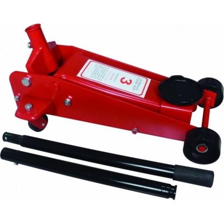 Hidrauliskais domkrats 3t Garage Jack (dual pump)