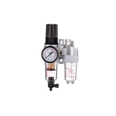 "SV-2220 Gaisa filtrs-regulators-eļļotājs 1/4"" Air filter-regulator-lubricator"