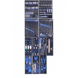 TBR4607-X-222 Instrumentu kaste-ratiņi 222 vien. komplekts