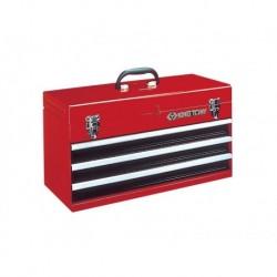 87401-3 Instrumentu kaste 3 atvilktnes