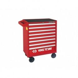 87434-8B Instrumentu kaste-ratiņi 8 atvilktnes